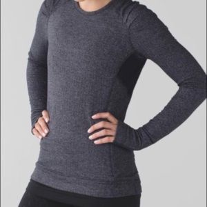 Lululemon think fast pullover size 8